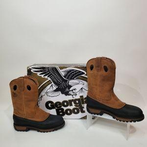 🆕️ Georgia Boots Muddog Wellington Leather Boots